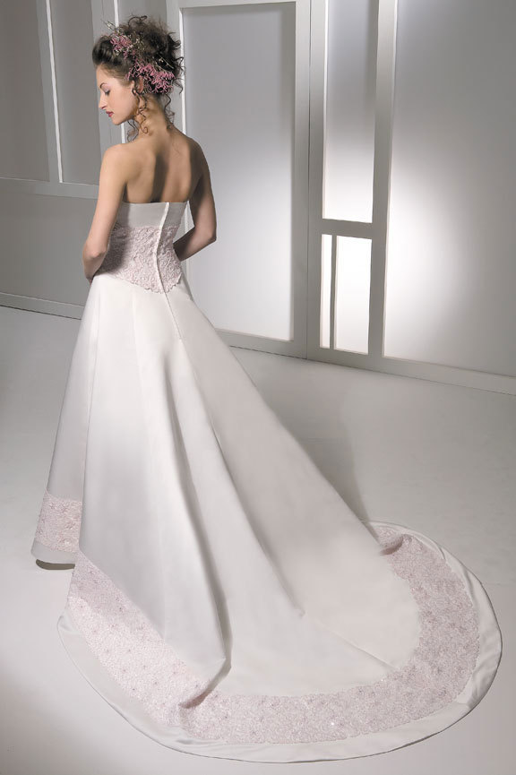 Wedding Dresses, Fashion, pink, dress, Train, Allure Bridals