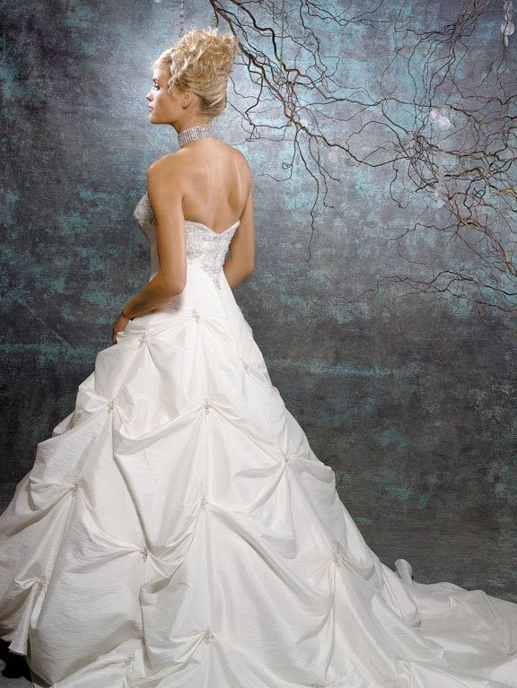 Wedding Dresses, Fashion, dress, Train, Allure Bridals