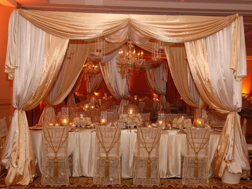 Reception, Flowers & Decor, Decor, white, gold, Neil adams event resources