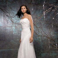 Wedding Dresses, Fashion, dress, Strapless, Strapless Wedding Dresses, Allure Bridals, Sheath, Sheath Wedding Dresses
