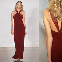 Bridesmaids, Bridesmaids Dresses, Fashion, red, Amsale