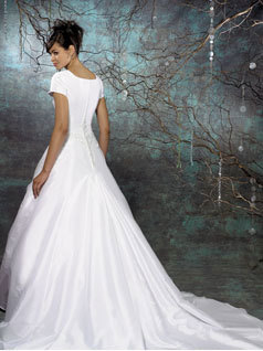 Wedding Dresses, Fashion, dress, Train, Sleeves, Allure Bridals