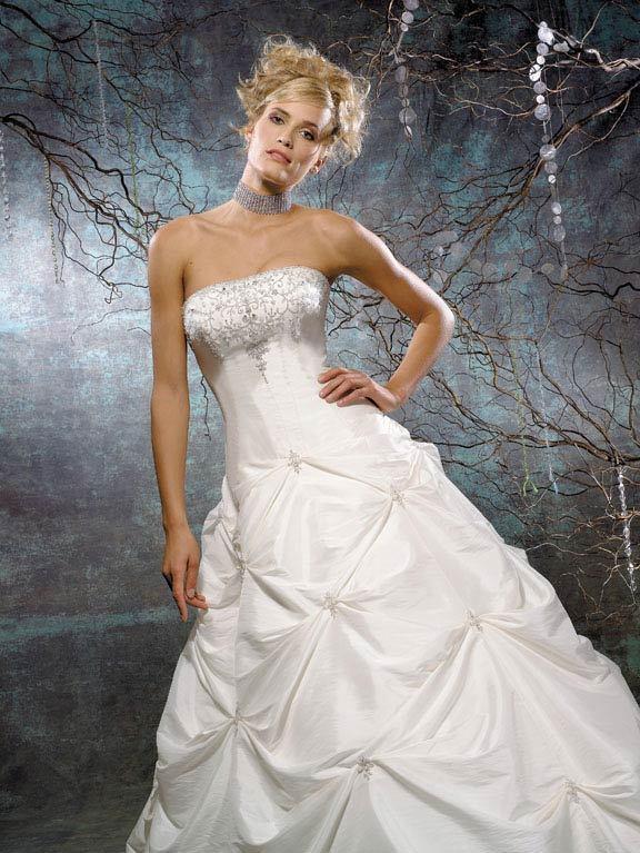 Wedding Dresses, Fashion, dress, Strapless, Strapless Wedding Dresses, Allure Bridals