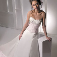 Wedding Dresses, Fashion, pink, dress, Strapless, Strapless Wedding Dresses, Allure Bridals