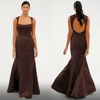 Bridesmaids, Bridesmaids Dresses, Fashion, brown, Mermaid, Amsale
