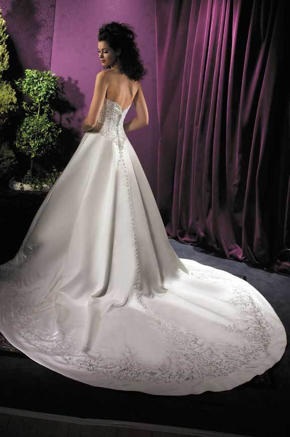 Wedding Dresses, Fashion, dress, Train, Beading, Allure Bridals, Beaded Wedding Dresses