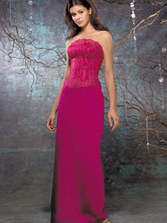 Bridesmaids, Bridesmaids Dresses, Fashion, pink, red, Allure Bridals