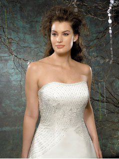 Wedding Dresses, Fashion, dress, Strapless, Strapless Wedding Dresses, Beading, Allure Bridals, Beaded Wedding Dresses