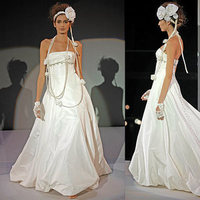 Wedding Dresses, Fashion, dress, Train, Strapless, Strapless Wedding Dresses, Empire, Amsale