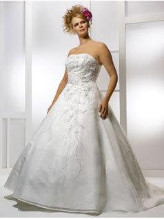 Wedding Dresses, A-line Wedding Dresses, Fashion, dress, Strapless, Strapless Wedding Dresses, A-line, Allure Bridals