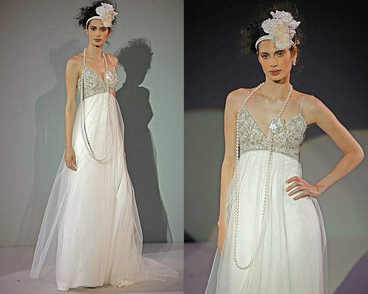 Wedding Dresses, Fashion, dress, Spaghetti straps, Amsale, Spahetti Strap Wedding Dresses
