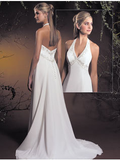Wedding Dresses, Fashion, dress, Halter, Allure Bridals, halter wedding dresses