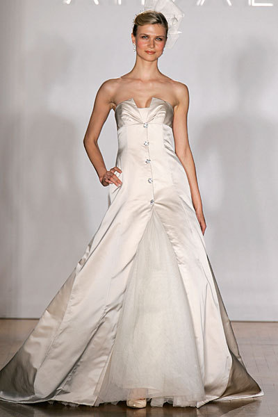 Wedding Dresses, Fashion, dress, Strapless, Strapless Wedding Dresses, Amsale