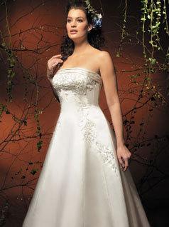 dress, Strapless, Allure Bridals, Fashion, Wedding Dresses, Strapless Wedding Dresses