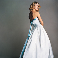 Wedding Dresses, Fashion, blue, dress, Amsale
