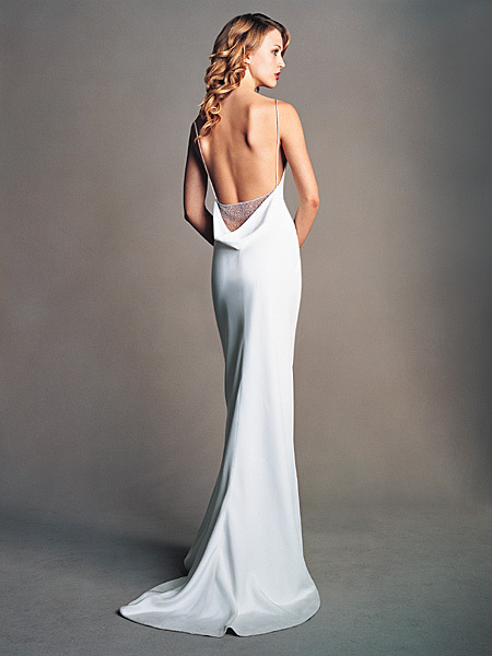 Wedding Dresses, Mermaid Wedding Dresses, Fashion, dress, Mermaid, Train, Sheath, Amsale, Sheath Wedding Dresses