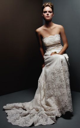 Wedding Dresses, Lace Wedding Dresses, Fashion, dress, Lace, Strapless, Strapless Wedding Dresses, Priscilla of boston