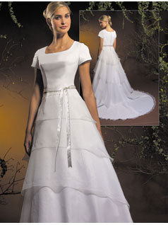 Wedding Dresses, A-line Wedding Dresses, Fashion, dress, A-line, Sleeves, Allure Bridals