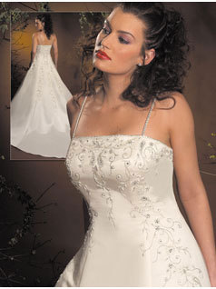 Wedding Dresses, Fashion, dress, Spaghetti straps, Allure Bridals, Spahetti Strap Wedding Dresses