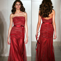 Bridesmaids, Bridesmaids Dresses, Fashion, red, Jim hjelm