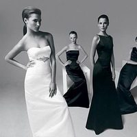 Bridesmaids, Bridesmaids Dresses, Wedding Dresses, Fashion, black, dress, Amsale