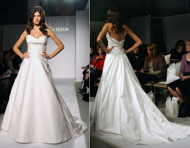 Wedding Dresses, A-line Wedding Dresses, Fashion, dress, Jim hjelm, Strapless, Strapless Wedding Dresses, A-line, Empire