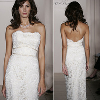 Wedding Dresses, Lace Wedding Dresses, Fashion, dress, Lace, Jim hjelm, Strapless, Strapless Wedding Dresses