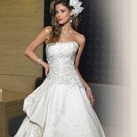Wedding Dresses, Ball Gown Wedding Dresses, Fashion, dress, Strapless, Strapless Wedding Dresses, Beading, Ballgown, Maggie Sottero, Beaded Wedding Dresses