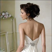 Wedding Dresses, Fashion, dress, Jim hjelm, Back