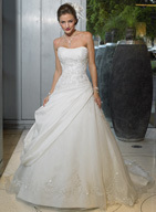 Wedding Dresses, A-line Wedding Dresses, Fashion, dress, Strapless, Strapless Wedding Dresses, A-line, Maggie Sottero