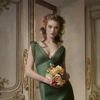 Bridesmaids, Bridesmaids Dresses, Fashion, green, Jim hjelm