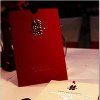 Stationery, red, Invitations