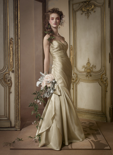 Wedding Dresses, Mermaid Wedding Dresses, Fashion, gold, dress, Mermaid, Jim hjelm