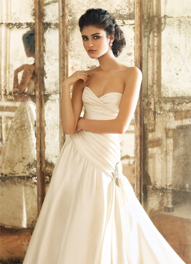 Wedding Dresses, A-line Wedding Dresses, Fashion, dress, Jim hjelm, Strapless, Strapless Wedding Dresses, A-line