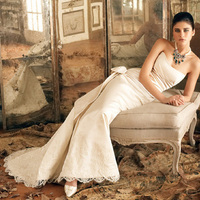 Wedding Dresses, Mermaid Wedding Dresses, Fashion, dress, Mermaid, Jim hjelm, Strapless, Strapless Wedding Dresses