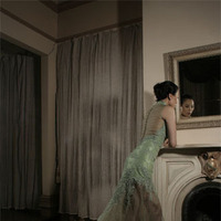 Wedding Dresses, Fashion, green, dress, Train, Jinza bridal couture