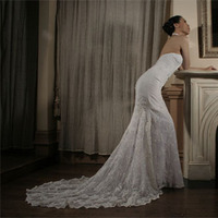 Wedding Dresses, Lace Wedding Dresses, Fashion, dress, Train, Lace, Jinza bridal couture