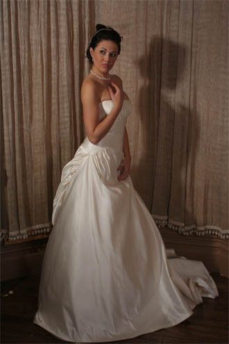 Wedding Dresses, Fashion, dress, Strapless, Strapless Wedding Dresses, Jinza bridal couture