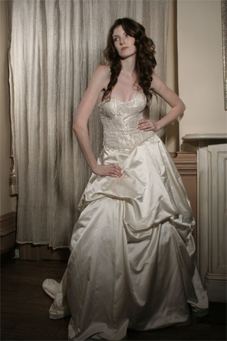 Wedding Dresses, Ball Gown Wedding Dresses, Fashion, dress, Strapless, Strapless Wedding Dresses, Ballgown, Jinza bridal couture