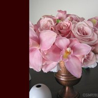 Flowers & Decor, pink, Centerpieces, Flowers, Centerpiece, Simply blooms