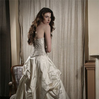Wedding Dresses, Ball Gown Wedding Dresses, Fashion, dress, Bustle, Ballgown, Jinza bridal couture