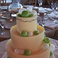 Cakes, green, cake, Beaux gateaux celebration cakes