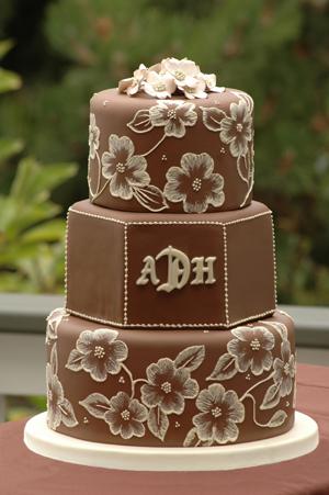 Cakes, brown, cake, Beaux gateaux celebration cakes