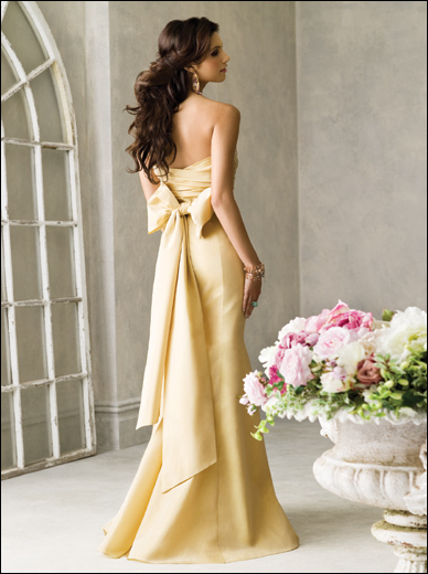 Bridesmaids, Bridesmaids Dresses, Fashion, yellow, Jim hjelm