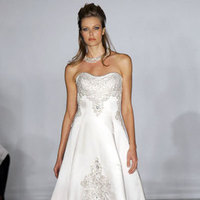 Wedding Dresses, A-line Wedding Dresses, Fashion, dress, Strapless, Strapless Wedding Dresses, A-line, Kenneth pool