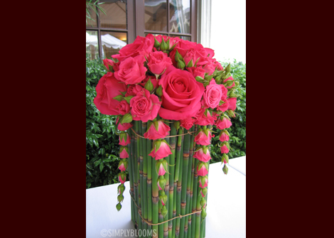 Flowers & Decor, pink, brown, Centerpieces, Flowers, Centerpiece, Simply blooms