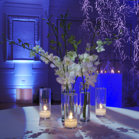 Modern Wedding Flowers & Decor, Winter Wedding Flowers & Decor