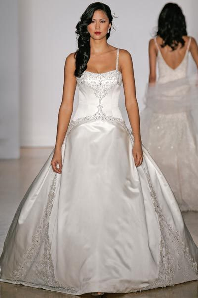 Wedding Dresses, Ball Gown Wedding Dresses, Fashion, dress, Spaghetti straps, Ballgown, Kenneth pool, Spahetti Strap Wedding Dresses