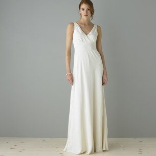 Wedding Dresses, Fashion, dress, V-neck, V-neck Wedding Dresses, Sheath, Jcrew, Sheath Wedding Dresses
