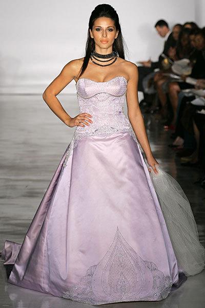 Wedding Dresses, A-line Wedding Dresses, Fashion, purple, dress, Strapless, Strapless Wedding Dresses, A-line, Kenneth pool